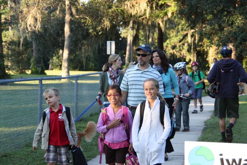 Walk to School Day - October 5, 2011