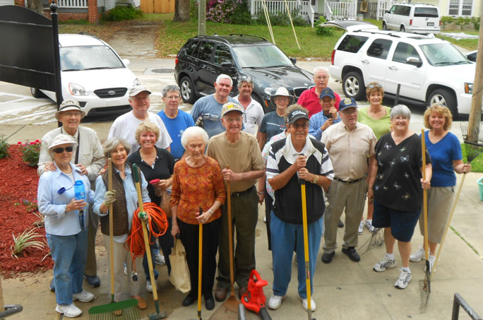 SSBC Volunteers at Landon College Prep