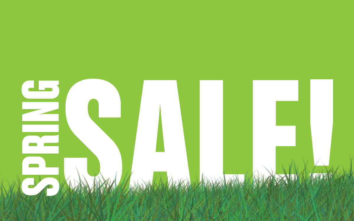 Spring Sale at Therapie