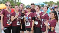 A great afternoon for a little Wine and Chocolate… Run!