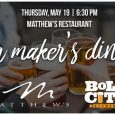 Chef de Cuisine Alex Yim and Pastry Chef Rebecca Reed invite you to join us for a five course Beer Maker's Dinner. Featuring brews from Jacksonville's own Bold City Brewery, Matthew's will dish up […]