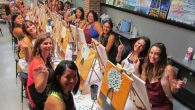 Fri, February 3, 2017 To the Moon & Back 7:00pm – 9:00pm | Instructor: Christine McFaul 2 HOUR PAINTING – Click Here for Details at to reserve a seat Sip. […]