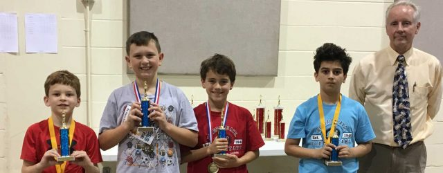 Jacksonville Scholastic Chess Championship – Results Location: St. Mark's Lutheran Church in San Marco. Date: February 11, 2017 What: Scholastic Chess Championship for Jacksonville and NE Florida. Section Results: Kindergarten-2nd […]