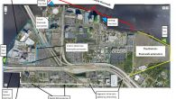 Reprinted below is a working graphic Lori Boyercreated to assist in discussion of existing and future Southbank Riverwalk improvements, water taxi docks, and the multi-use path that will connect the […]