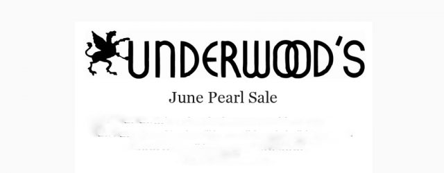 The June birthstone is pearl so what better way to celebrate than to have a sale? All of our pearl jewelry will be 15% off through the month of June! […]