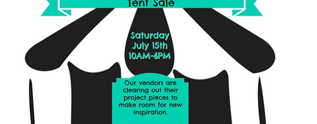 Rusted will be setting up tents in the back parking lot for a one day clearance of furniture, fabric, home decor, how to books/magazines, glassware and much, much more! Our […]