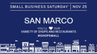 Remember to Shop Small this Saturday! Great Shopping and Dinning in San Marco!!! #mysanmarco #shopsmall #HolidayShopping
