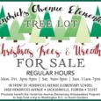 Hendricks Avenue Elementary Tree Lot has Trees and Wreaths For Sale. Mon- Friday 3pm to 9pm.  Sat. 9am to 9pm. Sunday 11am to 7pm. 3400 Hendricks Avenue.