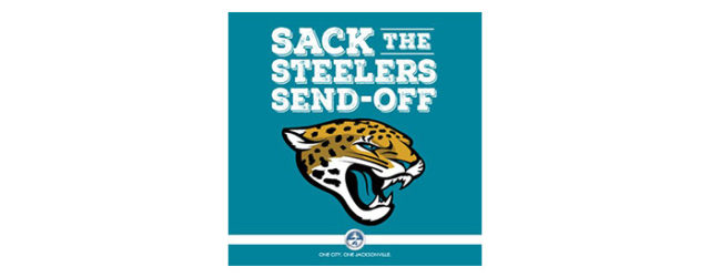 "JACKSONVILLE, Fla., January 11, 2018 – Mayor Lenny Curry is encouraging Jaguars fans to take part in a citywide ""Sack the Steelers Send-off"" in a show of support for the […]"