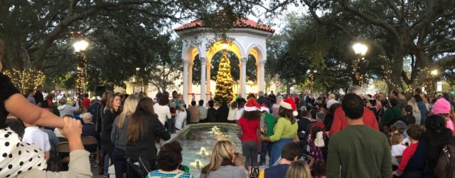 Everyone is invited to the annual tree lighting in Balis Park, Friday December 6th at 5:30pm.